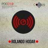 Codein Podcast 019 (Rolando Hodar)