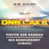 PIKPOK B2B RADMAN - Dnb Lake 2017 / Mix konkursowy (sobota)