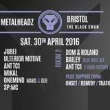 Dom & Roland Metalheadz Bristol Promo Mix 30th April