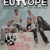 RISE IN EUROPE #11 FIRE WARRIORS (E) 13.02.2014