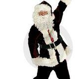 Santa in the black