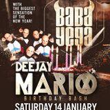 dj Mario @ Bocca - Mario's B-Day 14-01-2017
