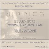 Hippies by MI CABEZA / FUSION FIESTA @ Circus [Live DJ-Set 25.07.2015]