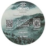Sonido Organico Episode 7 hosted by PABLoKEY ft ::Caceress (Low to High Records) Colombia:: 2.18.13