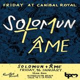 Solomun b2b Ame  - Live At Solomun +1, Canibal Royal (The BPM Festival 2015, Mexico) - 16-Jan-2015