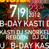 Kasti Dj B_Day 2012.09.8 Sala Instinto