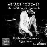 ABFACT PODCAST 053:Takashi Yoneyama