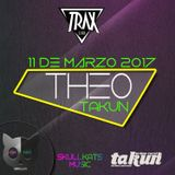 Theo@SkullKats Party at Trax Club Vigo 11.03.17
