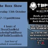 The ROXX Show TBFMonline radio 13th Oct NEW The Midnight Dogs, The Erotics, Tigertailz