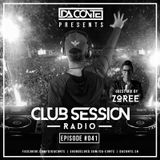 Da Conte   Club Session #41 with Guestmix by Zoree