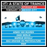 Armin Van Buuren - Live @ A State Of Trance 600 México (Warm Up Set) [16.02.2013]