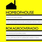 Stray's Home Of House Rokagroove Radio Vinyl Mix 30.05.2014