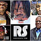 TJ SupaHype Live From The Fortress w/ Lefty, Bloc Burna Blaze, Chris Wynn & DJ KBK 3/20/17