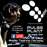 Pulse Plant - Spliced Vinyl Recordings - Guest mix 18 feb 2018