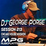 dj Georgie Porgie MPG Radio Show 213