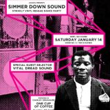 Simmer Down Sound Charley Organaire x Akasha 7-inch vinyl release Saturday, January 14, 2017 Chicago