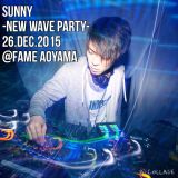 KiTE:LIVE MIX[SUNNY-NEW WAVE PARTY- 26.DEC.2015@FAME Aoyama Tokyo]