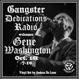 Gangster Dedications Radio welcomes Gene Washington and Joshua De Leon