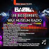 Basha - Sub Bass Sundayz on WMR - 01-11-15 40min