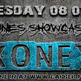 KONEY - NOT EASY TUNES SHOWCASE # 007 ON GABBER.FM 08/01/2014