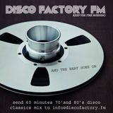 #DiscoTwitter Disco Factory Hour by Jason Weintraub