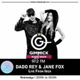 Ibiza Techno Music 054 by Dado Rey & Jane Fox - Gimmick Radio Show