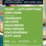 Yousef b2b Eats Everything @ Circus Liverpool 20-04-2014