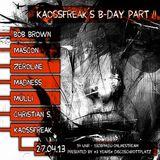 Mülli @ Kaossfreaks B-Day&3 Jahre Discoschrottplatz Pt.II - 130BPM.eu Online Stream - 27.04.2013