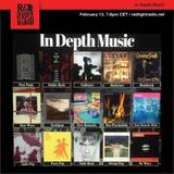 In Depth Music Radio (13-02-2019) New Wave, Pop Rock, Neo-Psychedelia Edition