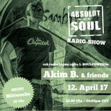 Absolut Soul Show /// 12.04.17 on SOULPOWERfm