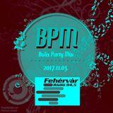 Mr. Tom - BPM (2017.11.03.) - Live @ Fehervar Radio