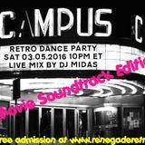 Retro Dance Party 03.05.2016 LIVE on Renegade Retro <renegaderetro.com> - MOVIE EDITION