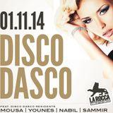 DISCO DASCO LA ROCCA 2014-11-01 P7 DJ SAMMIR-DJ MOUSA