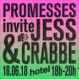 Promesses invite Jess & Crabbe - 18/06/18