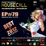 Housecall EP#79 - Best Of 2012 Special (27/12/12)