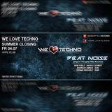 Peat Noise @ WE LOVE TECHNO, Hype Club, Stuttgart (Germany) (04.JULY.2014)