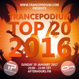 TrancePodium Top 20 Tracks Of 2016