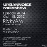 RickyAM - URBANNOISE 034 Pt1 [Oct.18,2012] on Pure.FM