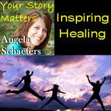 Author, speaker and coach Angela Dockter Harris on Your Story Matters with Angela Schaefers