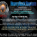 Heavy Rock Rapture May 9 2017 feat Finnish rockers Achiote plus new releases, classic rock & NWOBHM