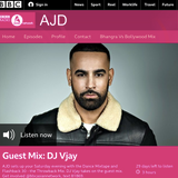 BBC Asian Network - DJ Vjay Guest Mix on DJ AJD show (January 2020)