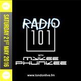Radio 101   02: Saturday 21st May 2016