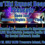 Josephine Machine & Friends Open Jam LIVE at Katiki Sunset Beach, FL 1/28/2013