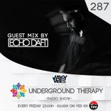 Jay Vibes Presents Underground Therapy Episode 287 Guest Mix By Echo Daft [ 2019 / 04 / 12 ]