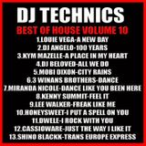 DJ Technics Best Of House 10