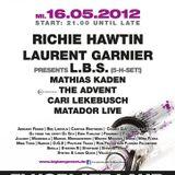 The Advent - Live @ Big Bang Festival, Universal D.O.G Club, Lahr, Alemanha (16.05.2012 )