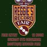 Part 1 - Reggie's record fair xmas special live @ Outlaws Yacht Club - Sunday 8th December 2013