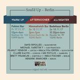 Soul'd Up Berlin [17./18.11.2017] Afternooner & Warm-Up spins