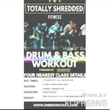 DJ K.O Live recording from Totally Shredded Drum and Bass Workout 03.08.17 Archway