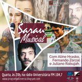 VICE VERSO SARAU  MUSICAL COM ALINE MARIA, FERNANDO ZORZAL E JULIANO RABUJAH